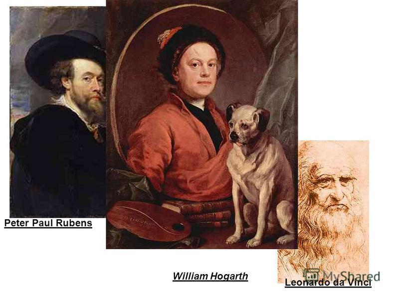 Peter Paul Ru Peter Paul Rubens Leonardo da Vinci William Hogarth