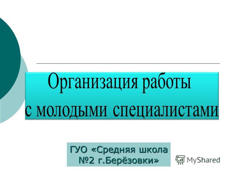 ГУО «Средняя школа 2 г.Берёзовки»