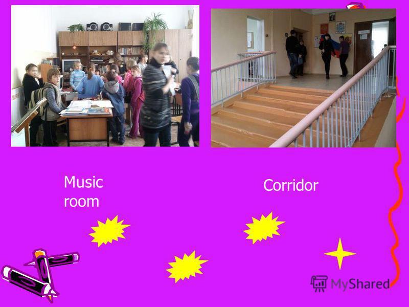 Music room Corridor