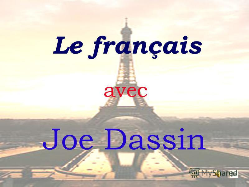 Le français Joe Dassin avec