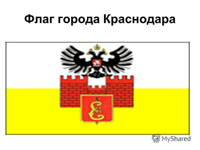 Флаг города Краснодара