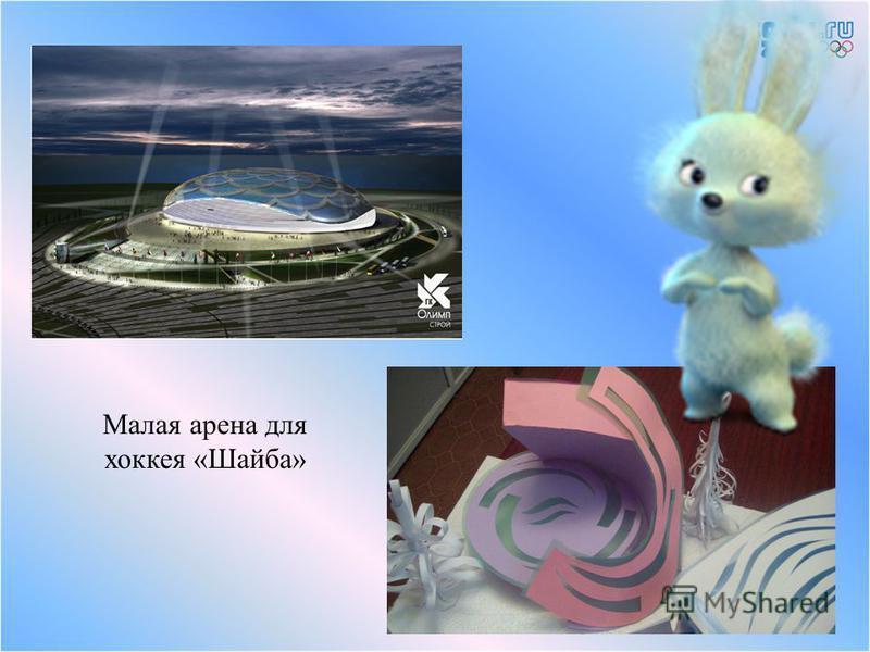 Малая арена для хоккея «Шайба»