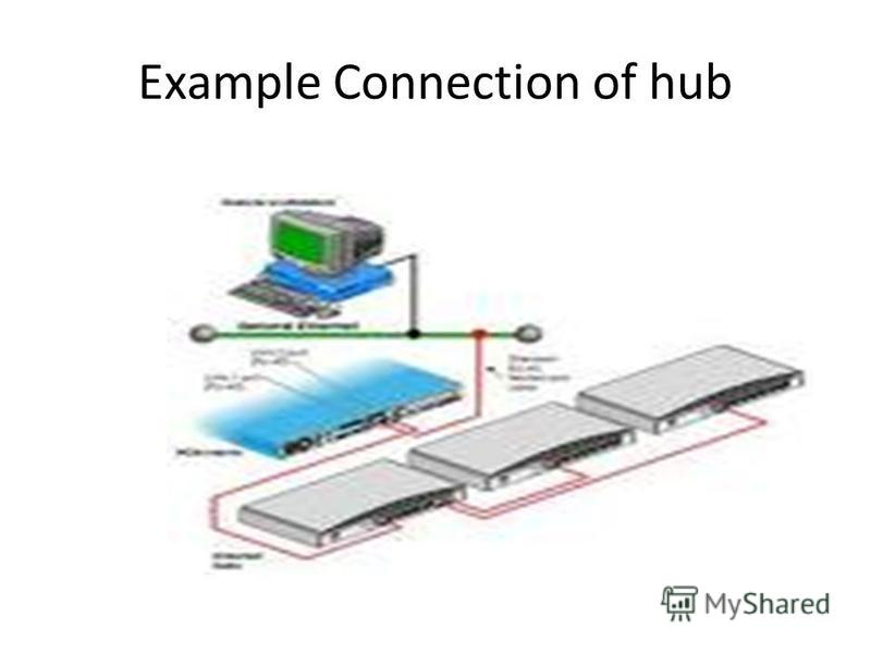 Example Connection of hub