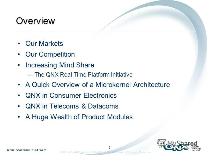 Andrea Youdale, VP European Operations QNX Software Systems