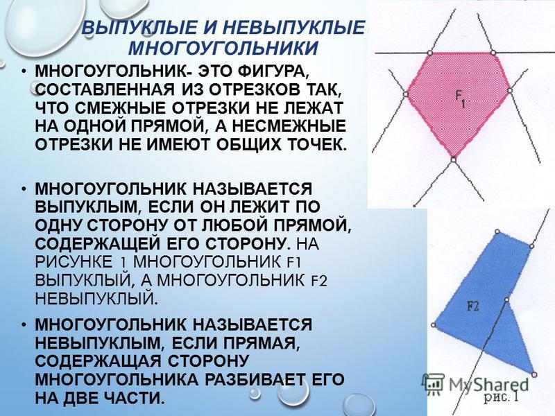 Невыпуклый многоугольник это работа по математике 3 класс