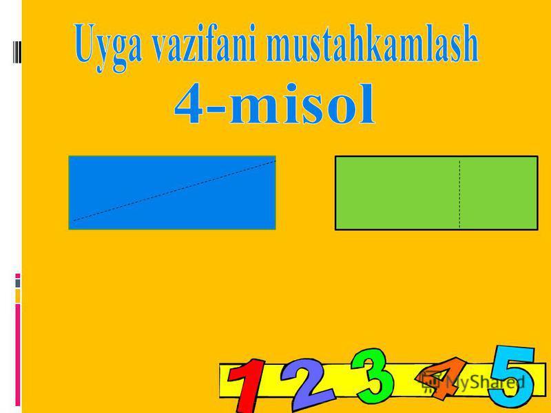 Dars shiori Qiziqarli misollarni yechamiz Matematika sirlarini ochamiz