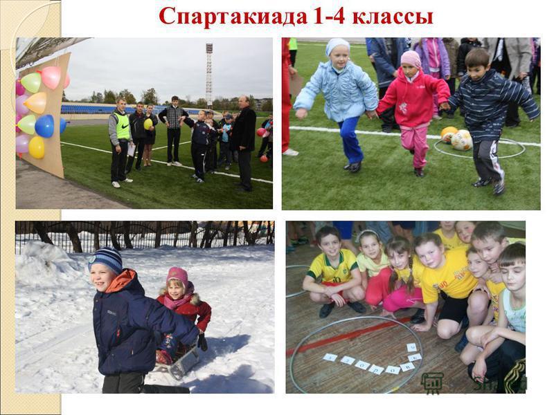 Спартакиада 1-4 классы
