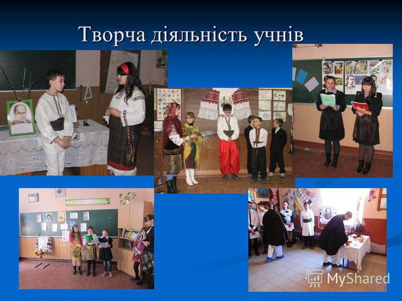 Творча діяльність учнів