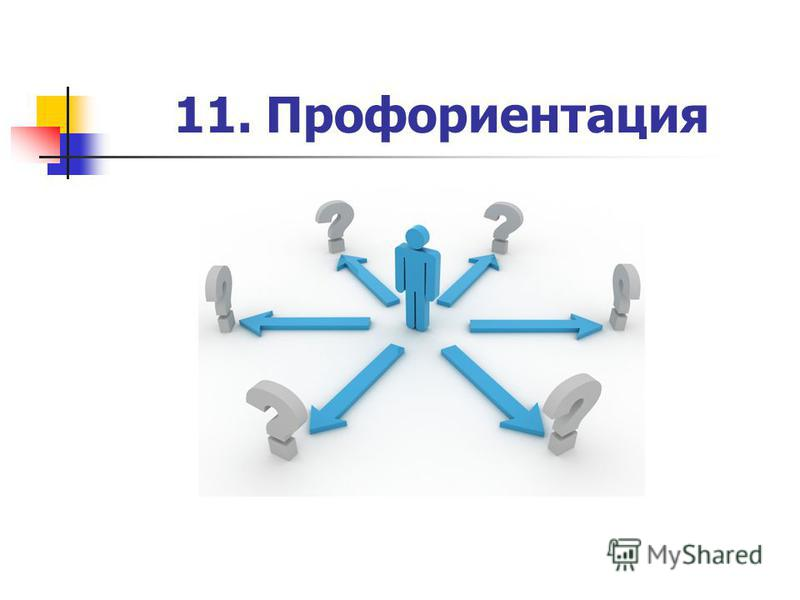 11. Профориентация