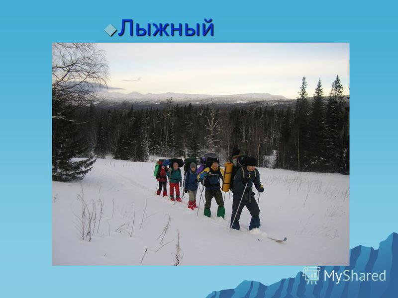 Лыжный туризм Лыжный туризм