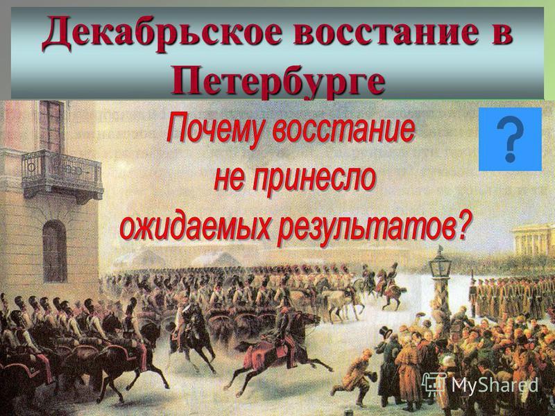 Каховский П.Г. Трубецкой С.П. Милорадович М.А.