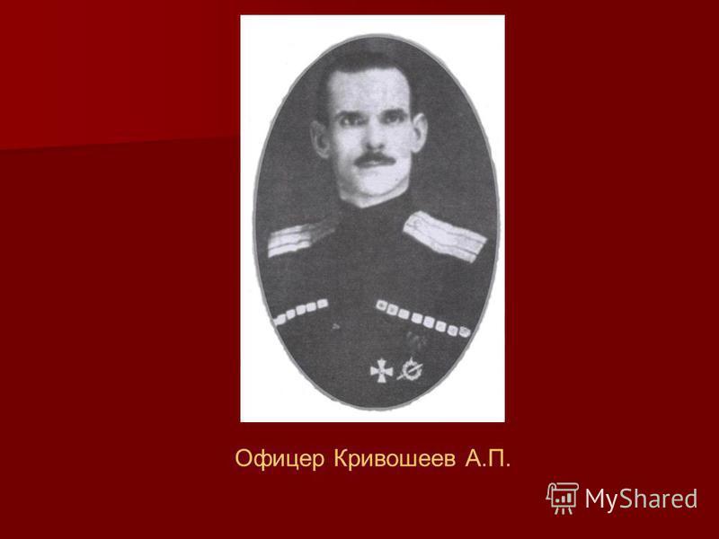 Офицер Кривошеев А.П.