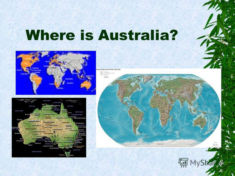 Where is Australia?
