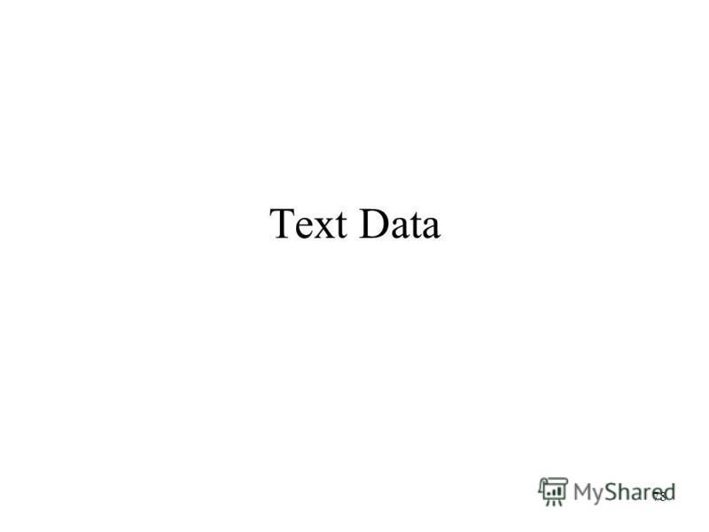 78 Text Data