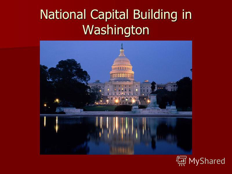 National Capital Building in Washington
