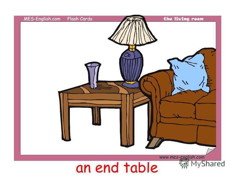 an end table