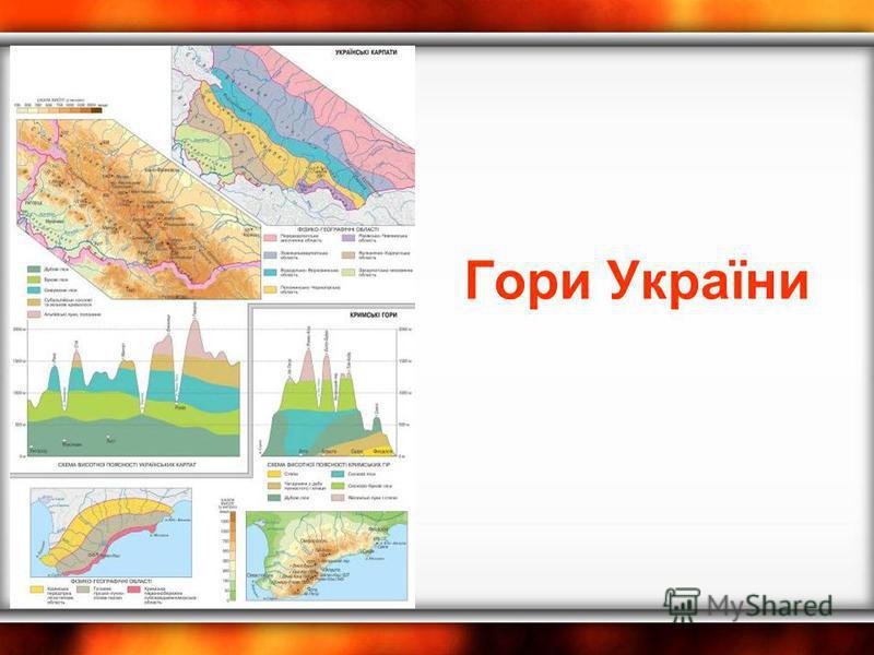 Гори України