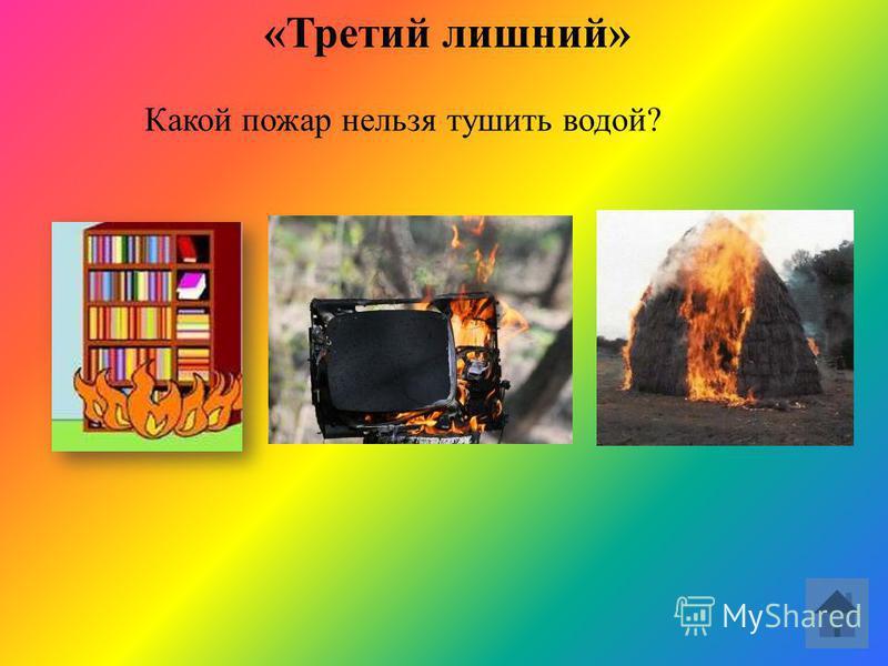 «Третий лишний» Какой предмет не входит в набор пожарного щита?