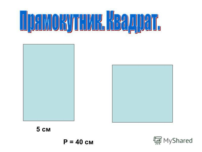 5 см Р = 40 см