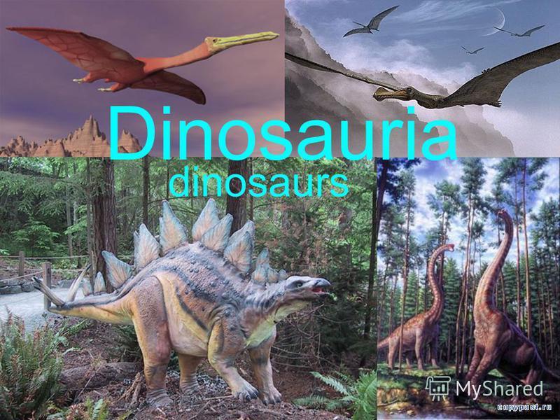 Dinosauria dinosaurs