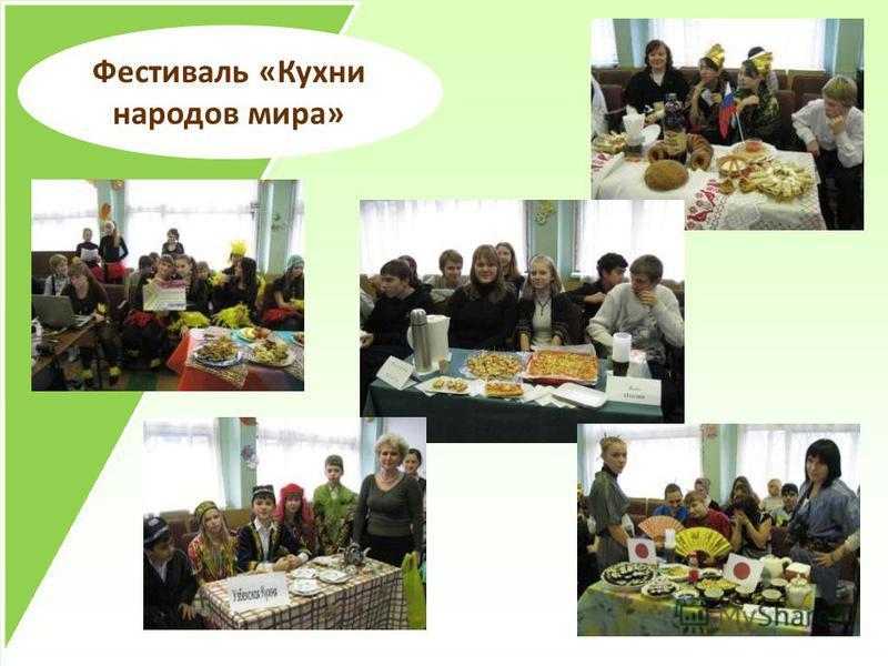 Фестиваль «Кухни народов мира»