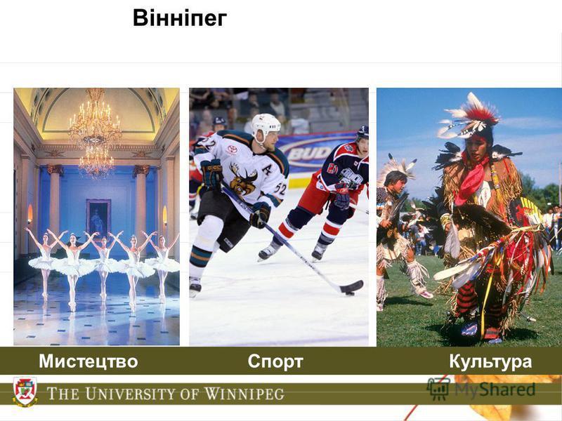 Вінніпег Мистецтво Спорт Культура