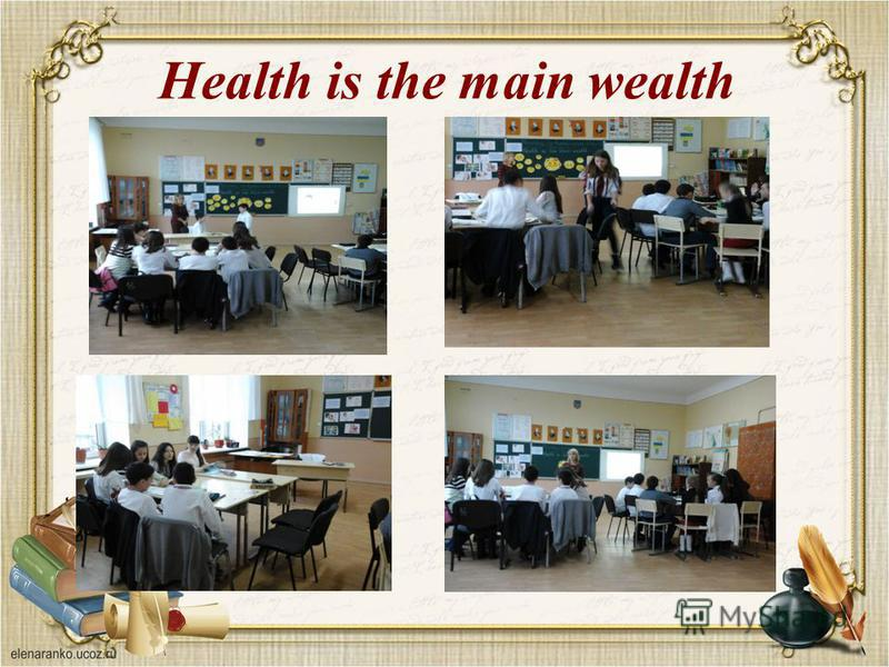 Health is the main wealth