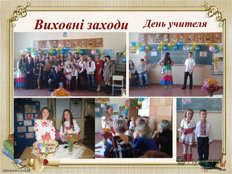 Виховні заходи День учителя
