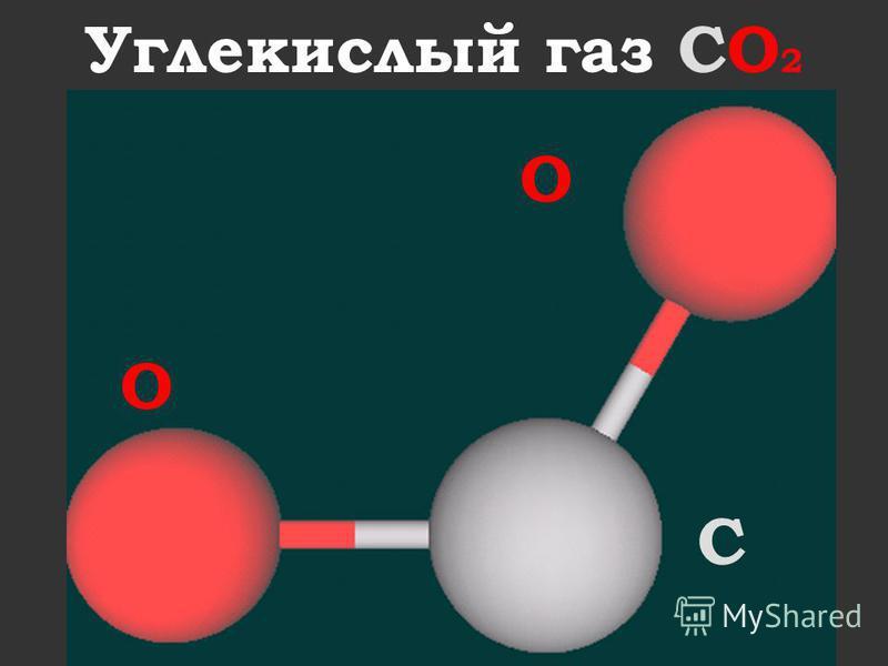 Углекислый газ CO 2 O O С
