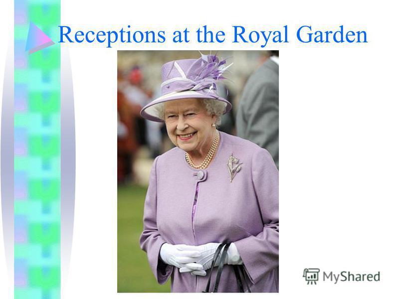 Receptions at the Royal Garden