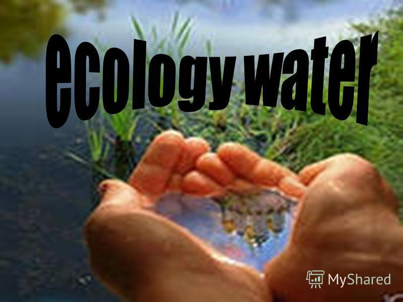 ecology water