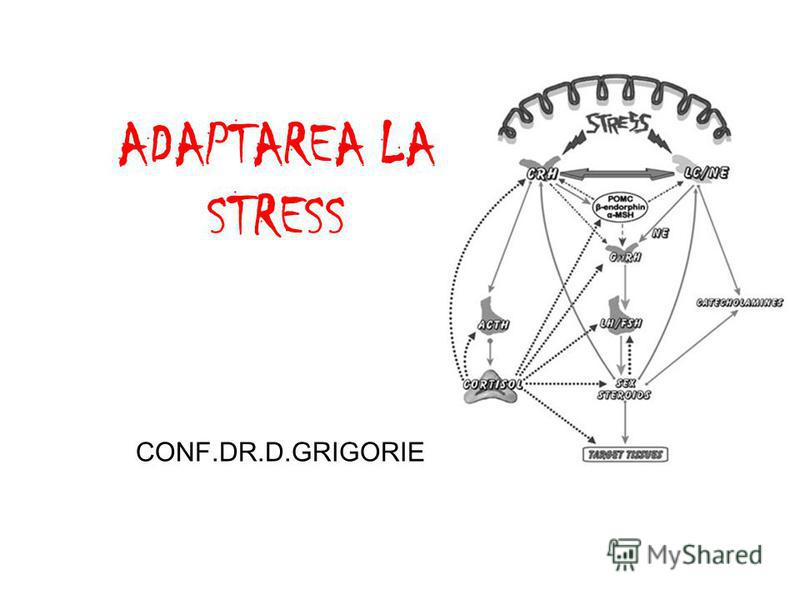 ADAPTAREA LA STRESS CONF.DR.D.GRIGORIE