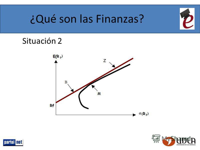 ¿Qué son las Finanzas? Situación 2