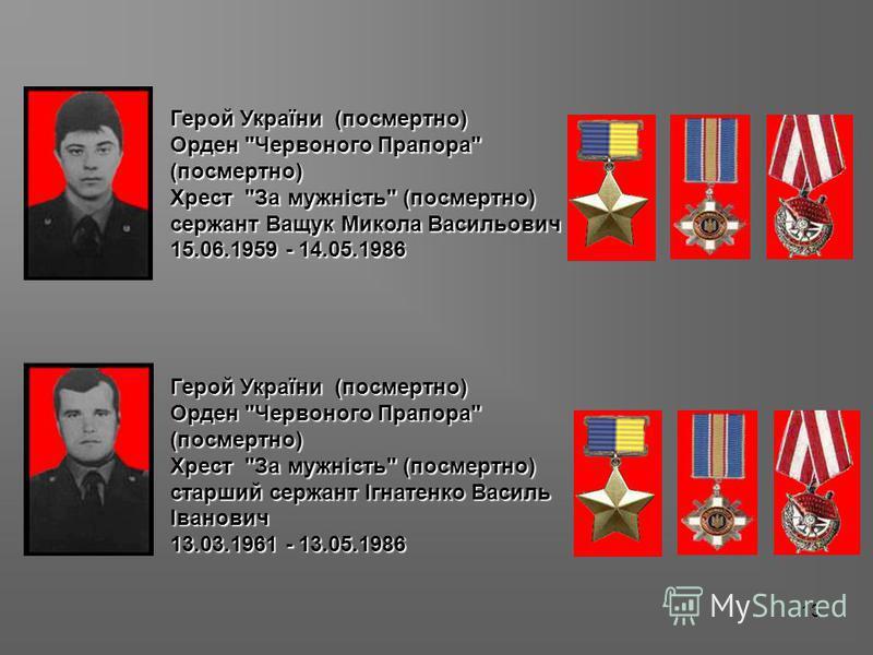 13 Герой України (посмертно) Орден