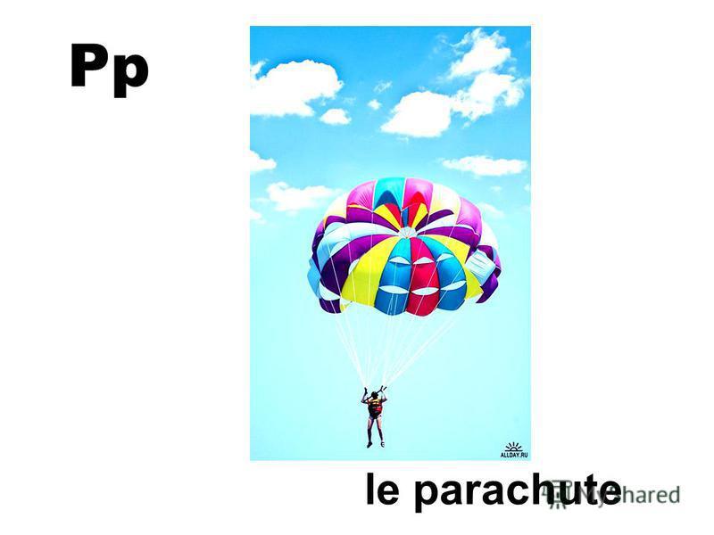Pp le parachute