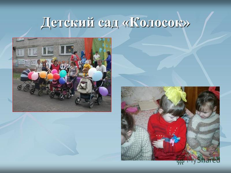 Детский сад «Колосок»