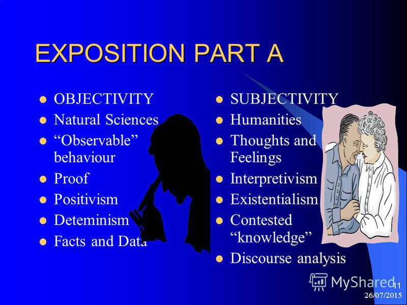 26/07/2015 10 Howes Theory Paradigms CHANGE / / SUBJECTIVITY <<<<>>>> OBJECTIVITY / / / REGULATION