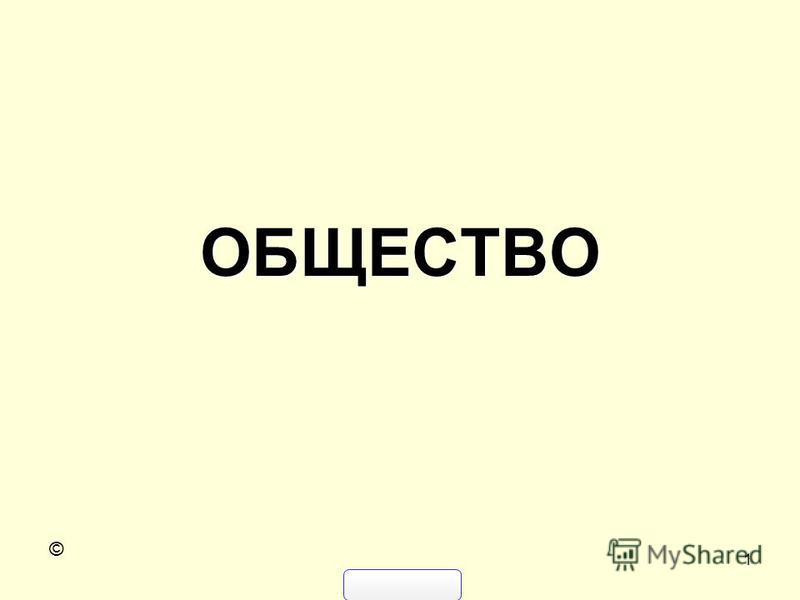 1 ОБЩЕСТВО ©