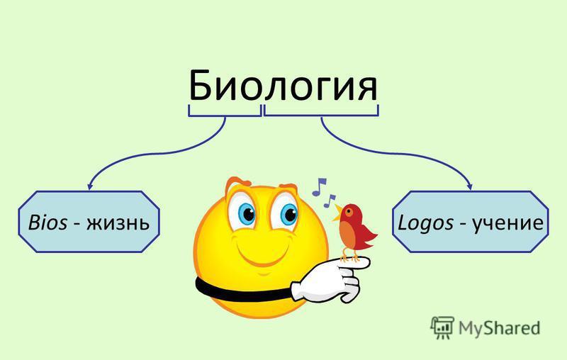 Биологея Bios - жизньLogos - учение