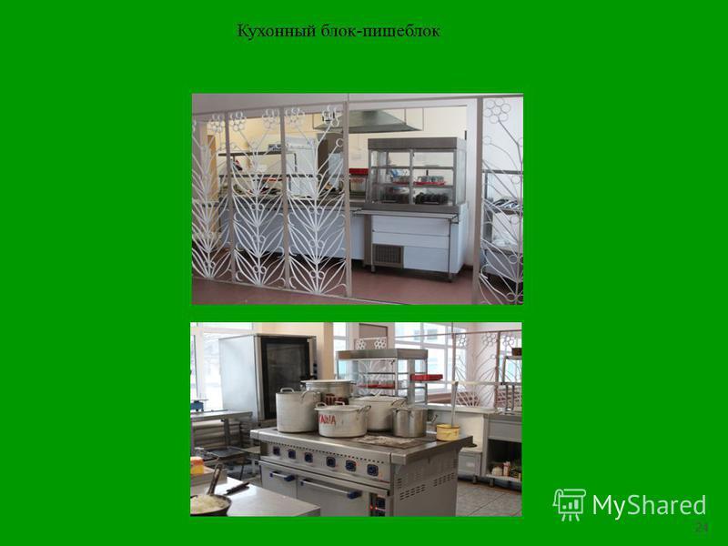 24 Кухонный блок-пищеблок