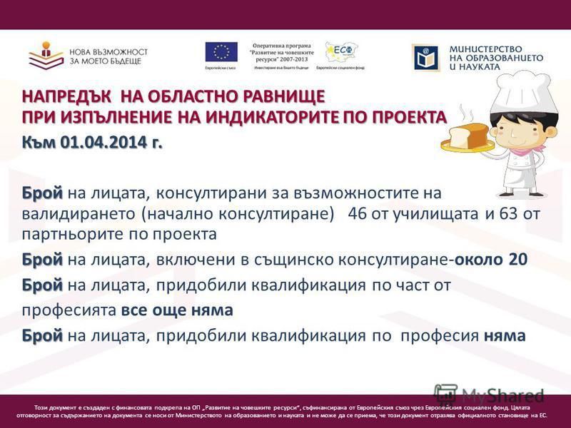 Този документ е създаден с финансовата подкрепа на ОП Развитие на човешките ресурси, съфинансирана от Европейския съюз чрез Европейския социален фонд. Цялата отговорност за съдържанието на документа се носи от Министерството на образованието и наукат
