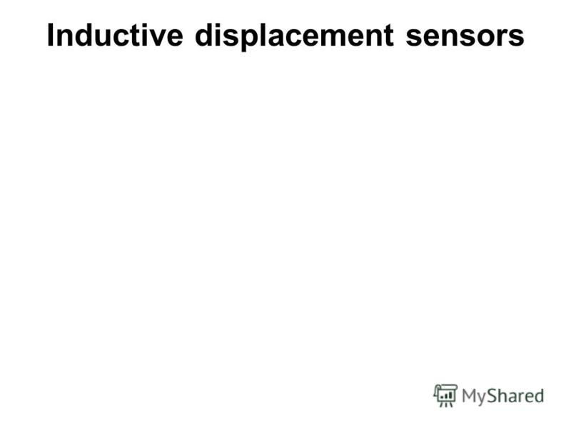 Inductive displacement sensors
