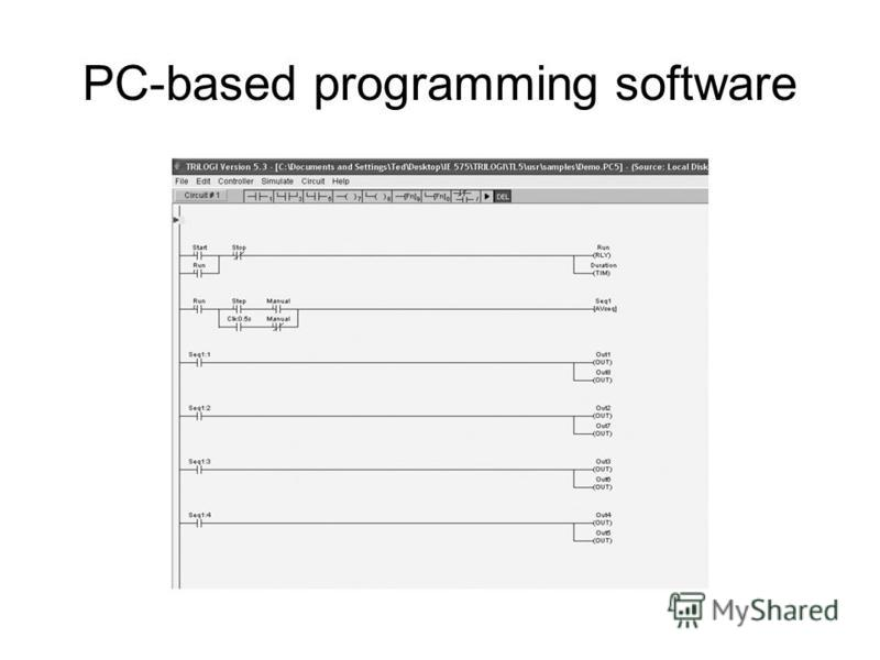 PC-based programming software