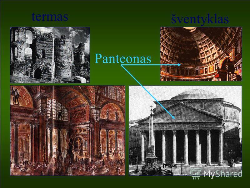termas šventyklas Panteonas