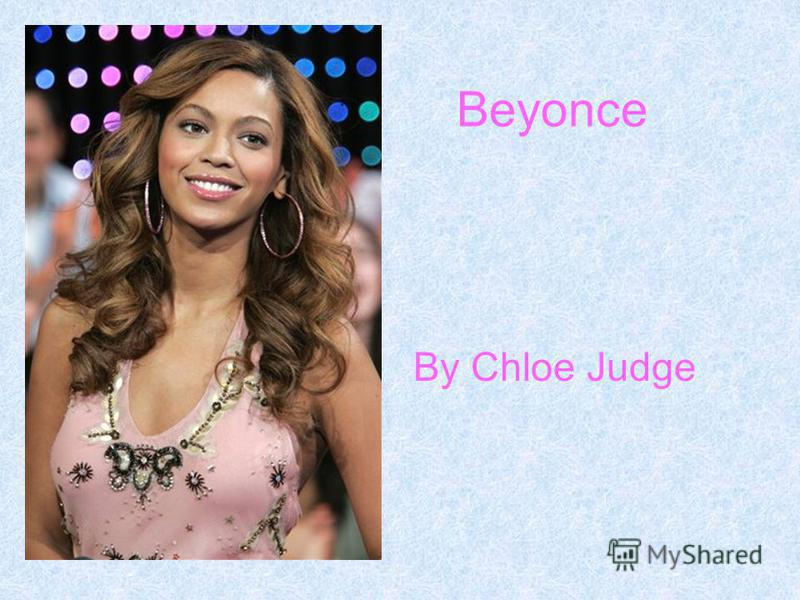 Beyonce By Chloe Judge