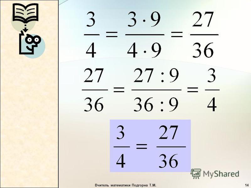 Вчитель математики Подгорна Т.М.14