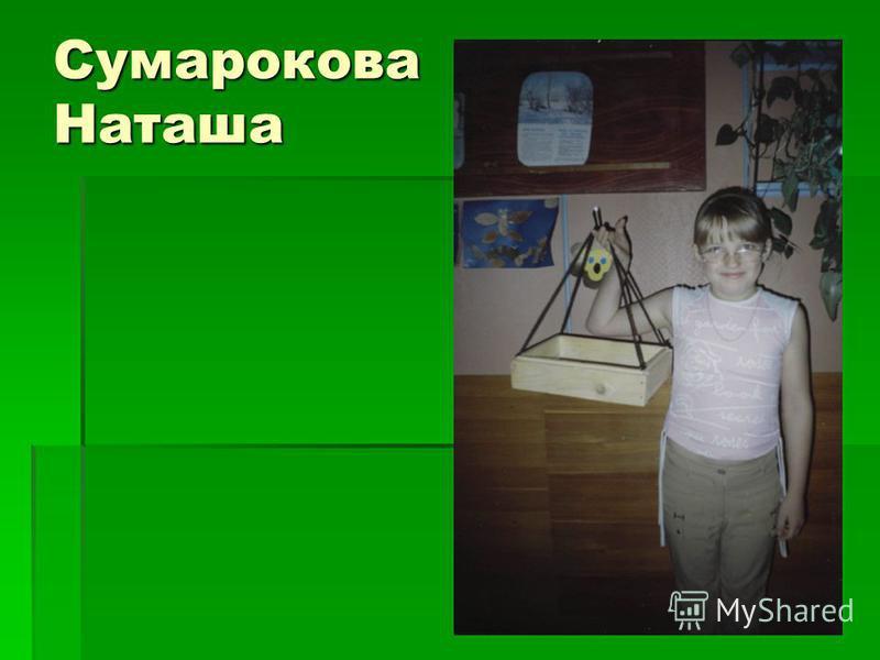 Сумарокова Наташа