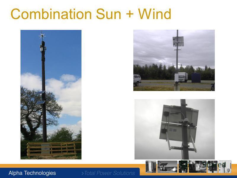 Combination Sun + Wind