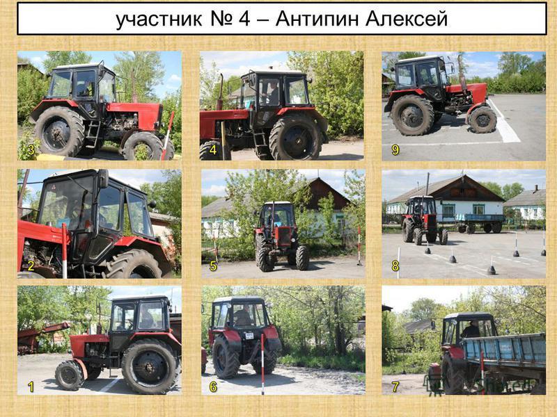 участник 4 – Антипин Алексей