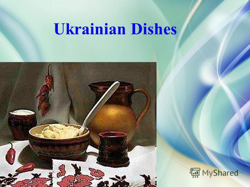 Ukrainian Dishes